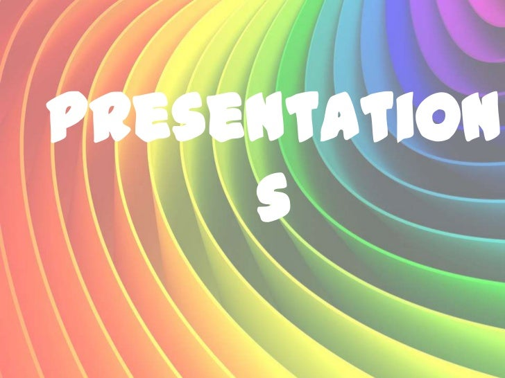 Presentation     s