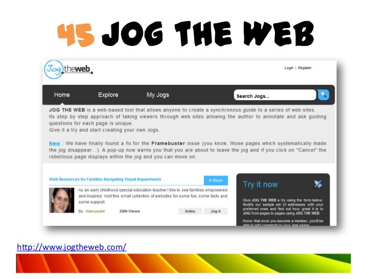 45 Jog the Webhttp://www.jogtheweb.com/