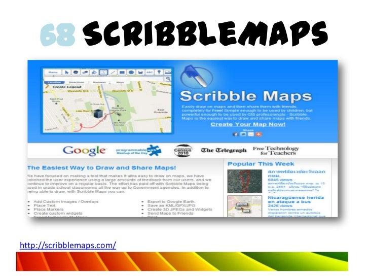 68 ScribbleMapshttp://scribblemaps.com/