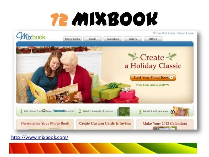 72 Mixbookhttp://www.mixbook.com/