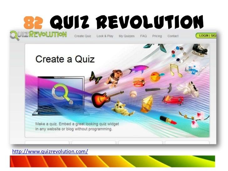 82 Quiz Revolutionhttp://www.quizrevolution.com/