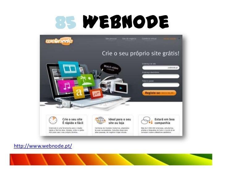 85 Webnodehttp://www.webnode.pt/