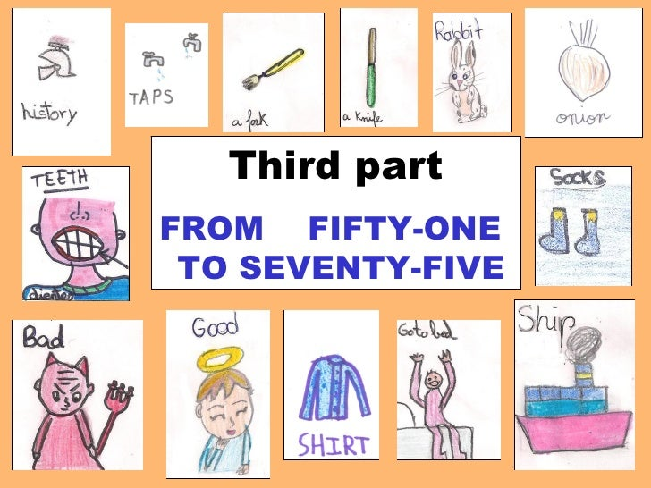 Third part FROM  FIFTY-ONE  TO SEVENTY-FIVE