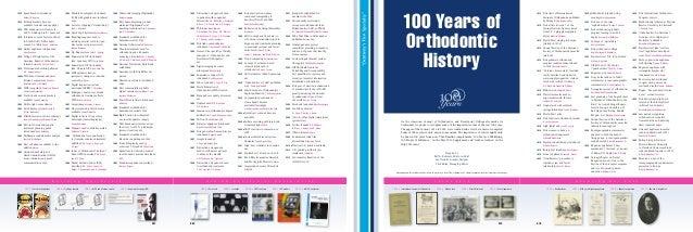 100 Years Os Orthodontics