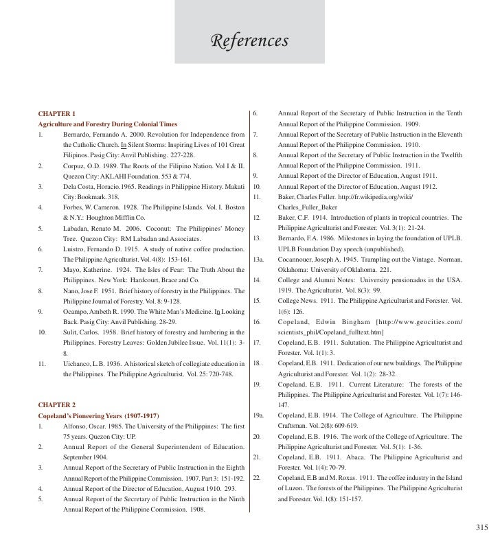 References   CHAPTER 1                                                                       6.     Annual Report of the S...