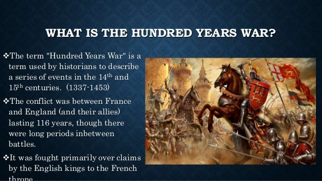 causes of the hundred years war The hundred years' war was a series of separate conflicts foughtprimarily between the house of valois and the house of plantagenetlasting from.