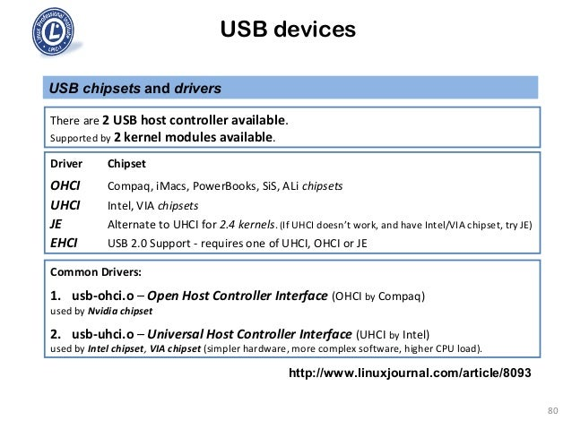 Driver for ALi EHCI host Controller