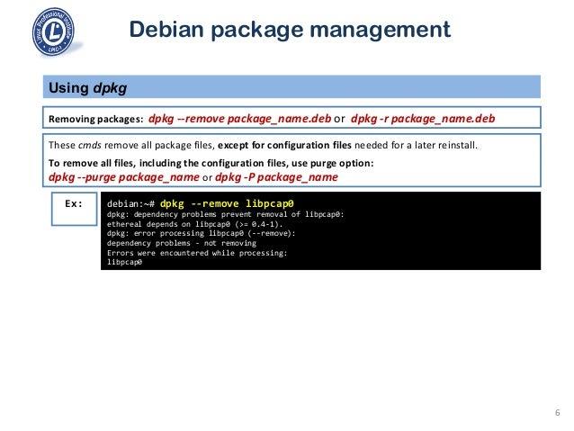 101 2 4 use debian package management