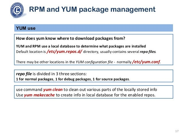 101 2 5 use rpm and yum package management