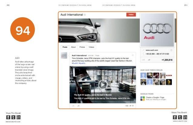 200                                    101 COMPANIES ROCKINg IT ON SOCIAL MEDIA   101 COMPANIES ROCKINg IT ON SOCIAL MEDIA...