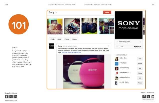 214                                    101 COMPANIES ROCKINg IT ON SOCIAL MEDIA   101 COMPANIES ROCKINg IT ON SOCIAL MEDIA...