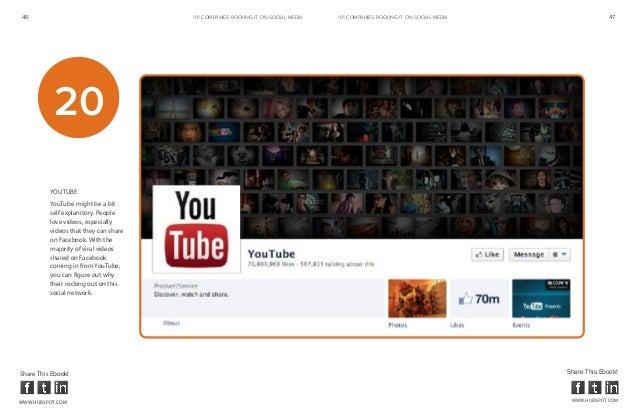 46                                     101 COMPANIES ROCKINg IT ON SOCIAL MEDIA   101 COMPANIES ROCKINg IT ON SOCIAL MEDIA...