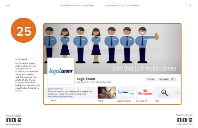 56                                        101 COMPANIES ROCKINg IT ON SOCIAL MEDIA   101 COMPANIES ROCKINg IT ON SOCIAL ME...