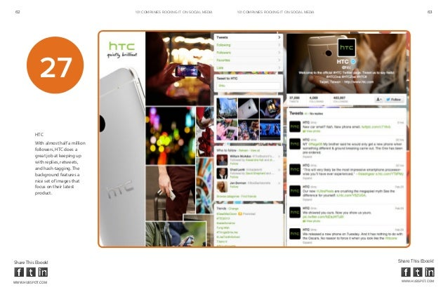 62                                     101 COMPANIES ROCKINg IT ON SOCIAL MEDIA   101 COMPANIES ROCKINg IT ON SOCIAL MEDIA...
