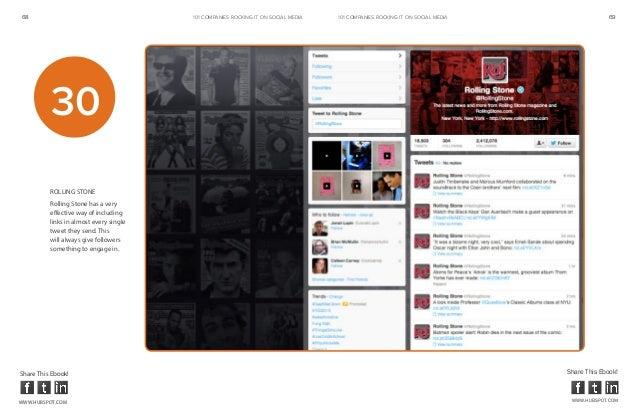 68                                       101 COMPANIES ROCKINg IT ON SOCIAL MEDIA   101 COMPANIES ROCKINg IT ON SOCIAL MED...
