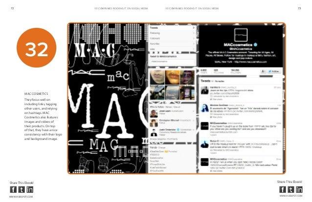 72                                      101 COMPANIES ROCKINg IT ON SOCIAL MEDIA   101 COMPANIES ROCKINg IT ON SOCIAL MEDI...