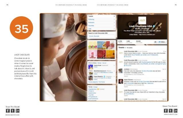 78                                        101 COMPANIES ROCKINg IT ON SOCIAL MEDIA   101 COMPANIES ROCKINg IT ON SOCIAL ME...