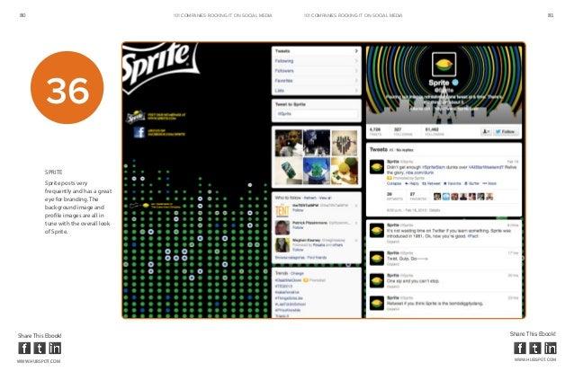 80                                     101 COMPANIES ROCKINg IT ON SOCIAL MEDIA   101 COMPANIES ROCKINg IT ON SOCIAL MEDIA...