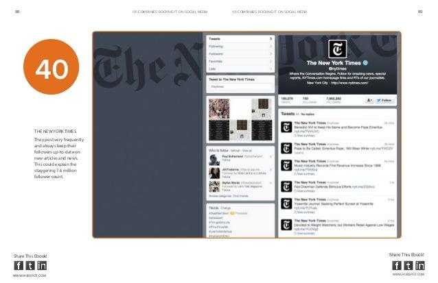 88                                    101 COMPANIES ROCKINg IT ON SOCIAL MEDIA   101 COMPANIES ROCKINg IT ON SOCIAL MEDIA ...