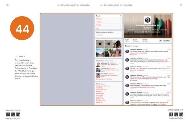 96                                     101 COMPANIES ROCKINg IT ON SOCIAL MEDIA   101 COMPANIES ROCKINg IT ON SOCIAL MEDIA...