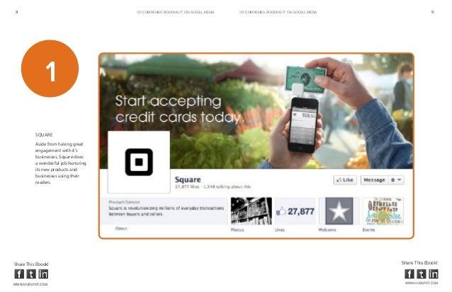 8                                     101 COMPANIES ROCKINg IT ON SOCIAL MEDIA   101 COMPANIES ROCKINg IT ON SOCIAL MEDIA ...
