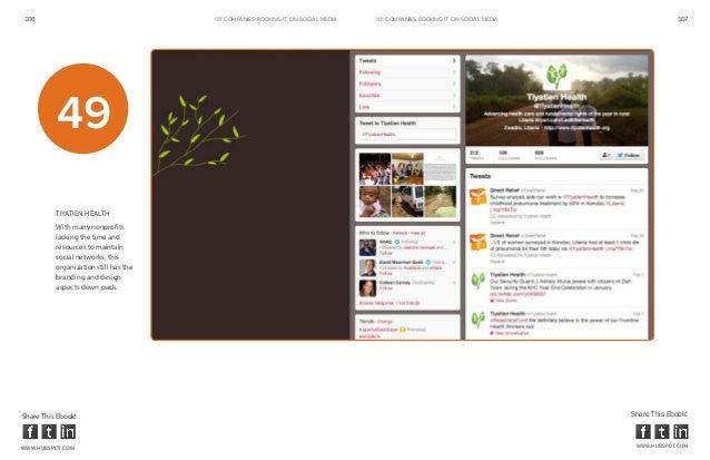 106                                    101 COMPANIES ROCKINg IT ON SOCIAL MEDIA   101 COMPANIES ROCKINg IT ON SOCIAL MEDIA...