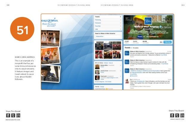 110                                   101 COMPANIES ROCKINg IT ON SOCIAL MEDIA   101 COMPANIES ROCKINg IT ON SOCIAL MEDIA ...