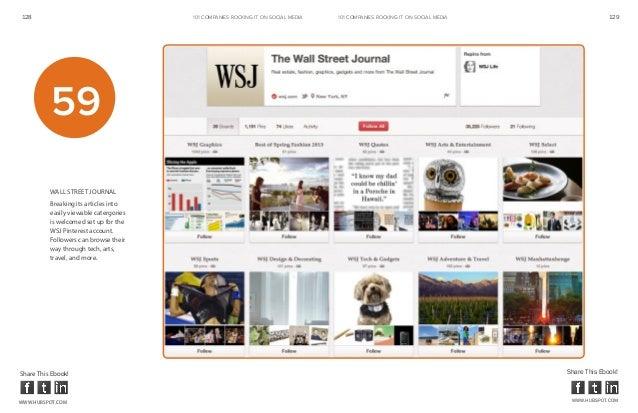 128                                     101 COMPANIES ROCKINg IT ON SOCIAL MEDIA   101 COMPANIES ROCKINg IT ON SOCIAL MEDI...