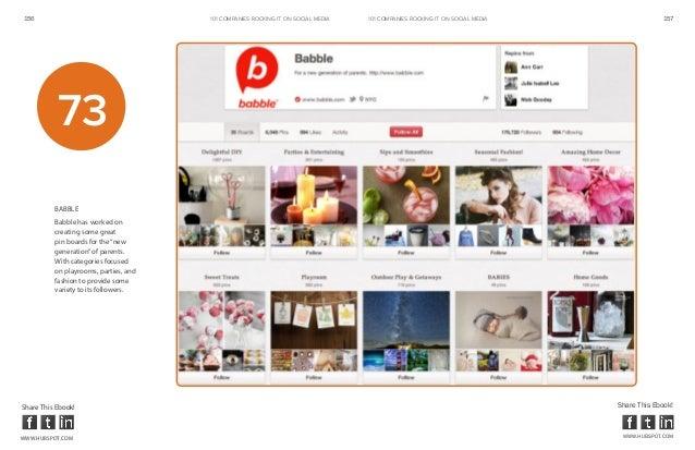 156                                    101 COMPANIES ROCKINg IT ON SOCIAL MEDIA   101 COMPANIES ROCKINg IT ON SOCIAL MEDIA...