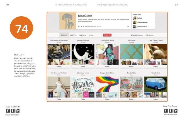 158                                    101 COMPANIES ROCKINg IT ON SOCIAL MEDIA   101 COMPANIES ROCKINg IT ON SOCIAL MEDIA...