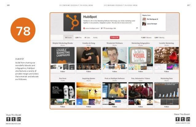 166                                    101 COMPANIES ROCKINg IT ON SOCIAL MEDIA   101 COMPANIES ROCKINg IT ON SOCIAL MEDIA...