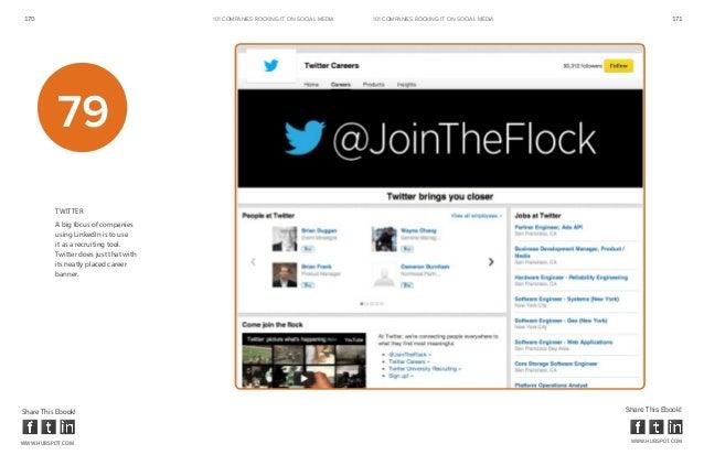 170                                     101 COMPANIES ROCKINg IT ON SOCIAL MEDIA   101 COMPANIES ROCKINg IT ON SOCIAL MEDI...