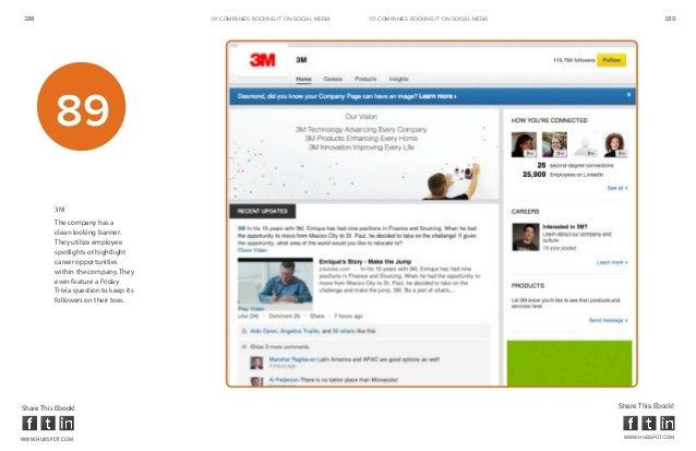 188                                     101 COMPANIES ROCKINg IT ON SOCIAL MEDIA   101 COMPANIES ROCKINg IT ON SOCIAL MEDI...
