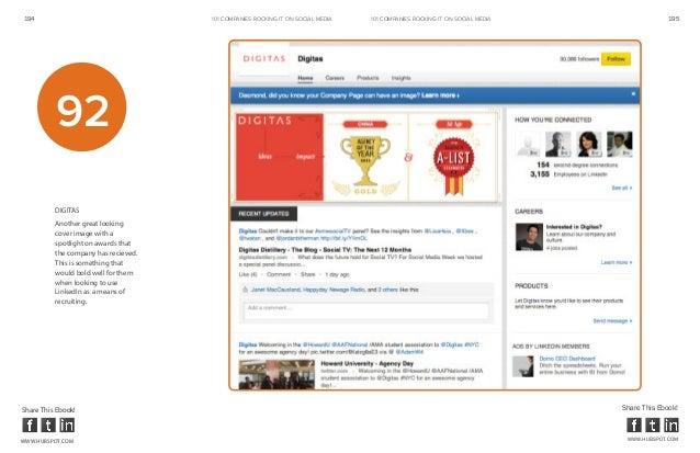 194                                   101 COMPANIES ROCKINg IT ON SOCIAL MEDIA   101 COMPANIES ROCKINg IT ON SOCIAL MEDIA ...