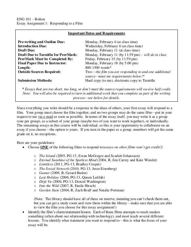 Eng101 response paper 5
