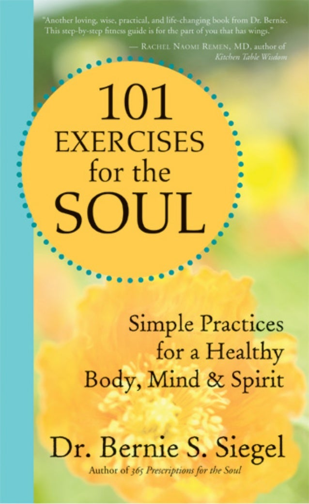 INTRODUCTIONMost of us know how important it is to exercise ourbodies, but how often do we exercise our souls?     It is e...