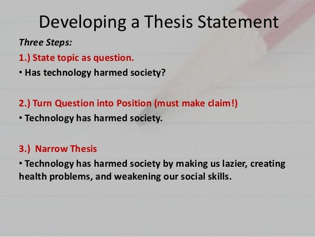 good 3 part thesis An effective thesis contains an effective two-part thesis argument statement offers the reader your viewpoint or insight in a mere how to compose a good essay.