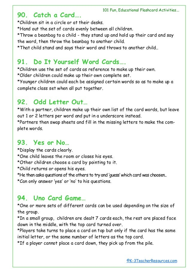 101 ways-to-use-word-cards