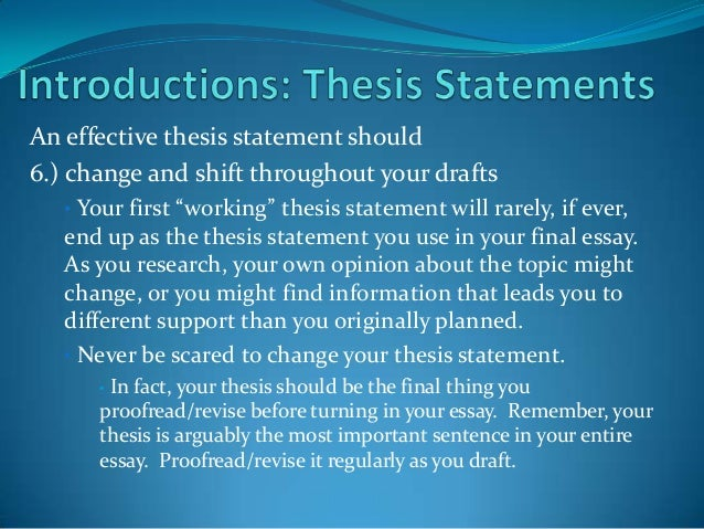 thesis statement resistance to change Need ideas on what to write about for your change management dissertation paper  you may find it easier to develop a thesis statement (main idea.