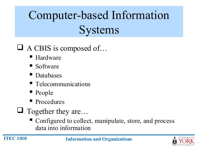 introduction to information system The goal of introduction to information systems, 4th canadian edition is to teach all business majors, especially undergraduates, how to use information technology to master their current or future jobs and to help ensure the success of their organization this program concentrates on placing information systems in the context of business so that students understand how information systems and.