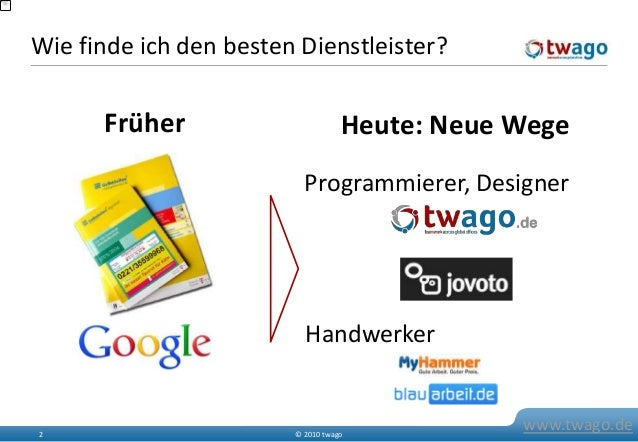twago at Social Media Berlin Stammtisch - Networking, Strategy, and Outsourcing Slide 3