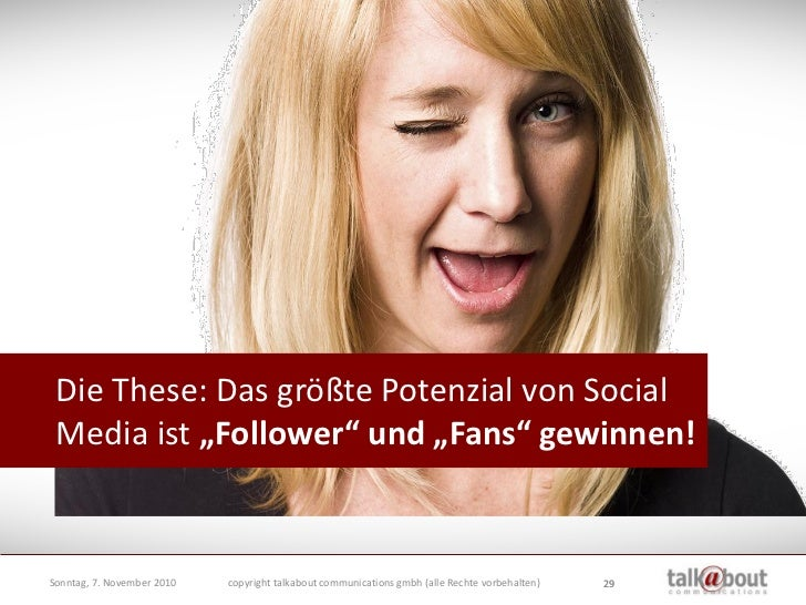 """Echte (!) """"Follower"""" – die den Ideen und der Richtung auch tatsächlich """"folgen"""".                               Echte (!) """"..."""