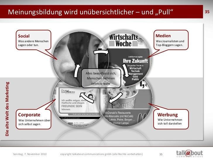 """Die """"alte Welt"""" des Marketing war komplett kontrollierbar!                                                                ..."""