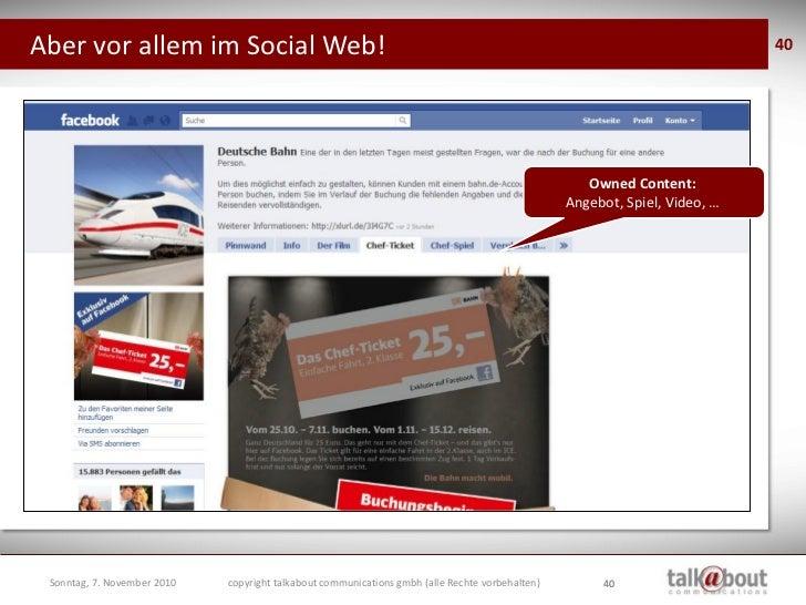 Aber vor allem im Social Web!                                                                                             ...
