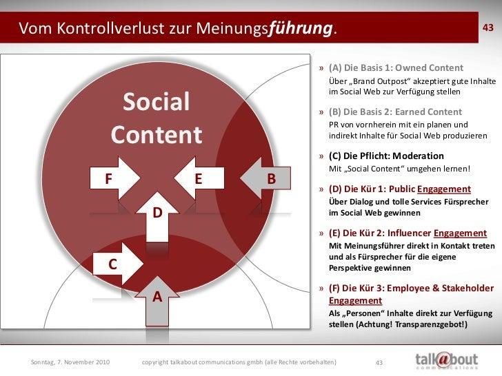 Die, die den Social Content also am  besten für Sie gestalten können….                                 … sind Ihre echten ...