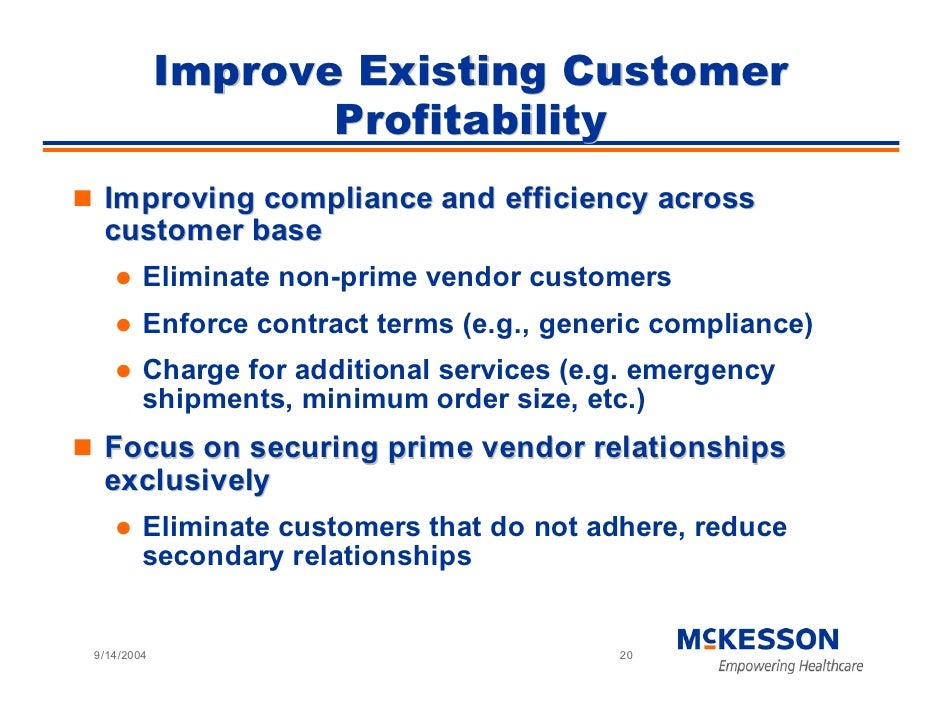 Improve Existing Customer                    Profitability  Improving compliance and efficiency across  customer base     ...