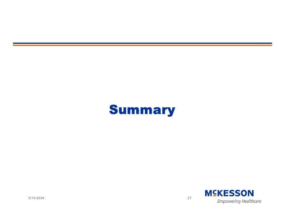Summary     9/14/2004             27