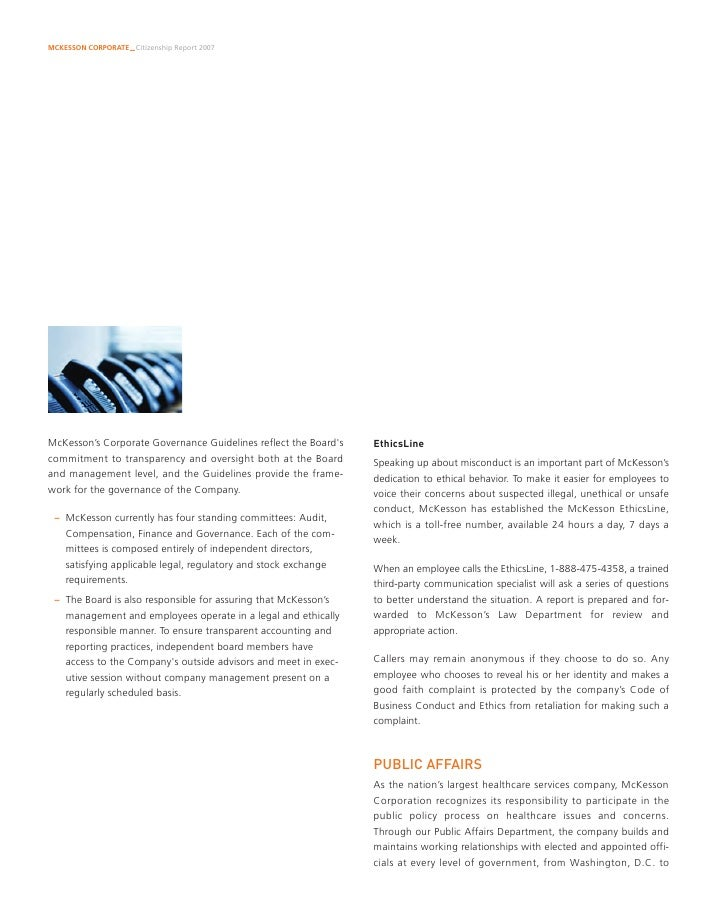 Corporate Citizenship Report