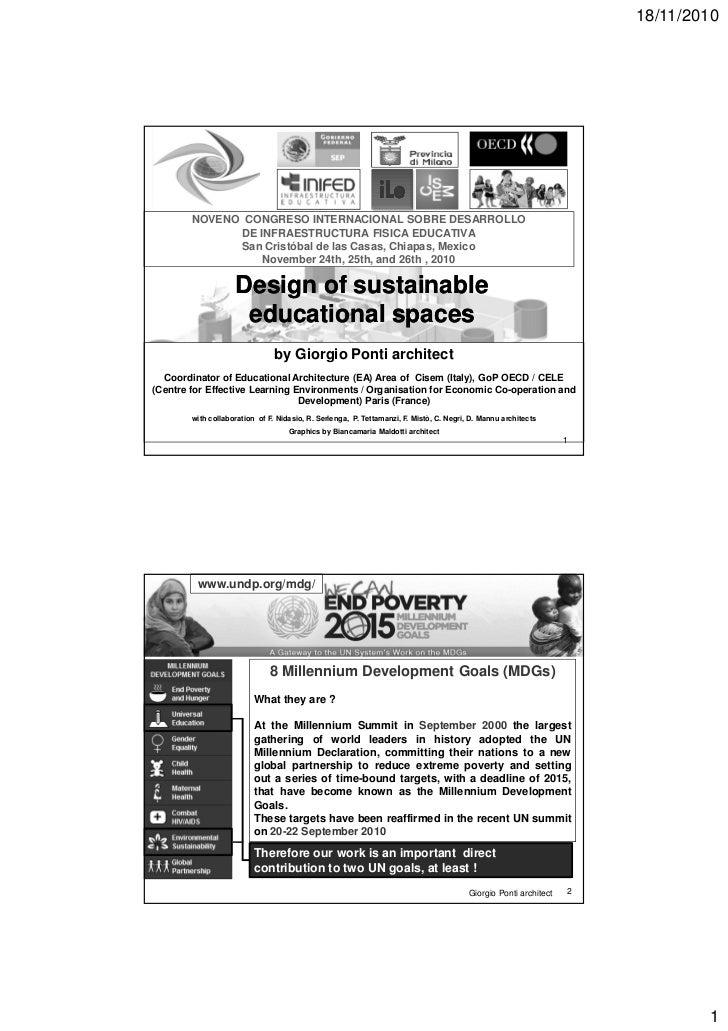 18/11/2010                                                              iLe        NOVENO CONGRESO INTERNACIONAL SOBRE DES...