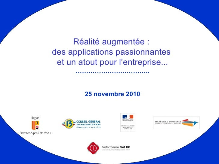 2010 11 25 Realité augmentée by Competitic